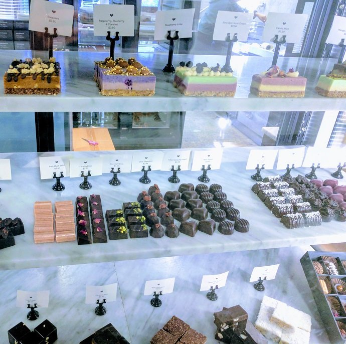 Pana Chocolate Display